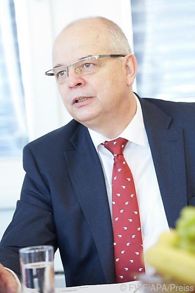 ASMET-Präsident Rotter sieht Bedarf an disruptiven Innovationen © FWF/APA/Preiss