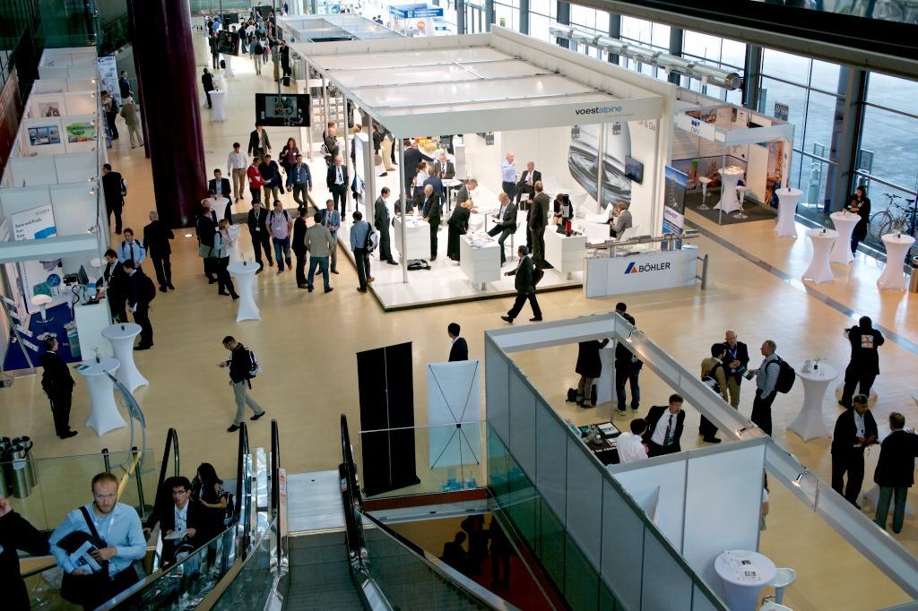 Über 800 Teilnehmer bei der EUROCORR 2015 in der Grazer Stadthalle. ©ASMET